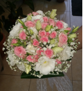 Bridal bouquet as