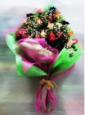 Τριαντάφυλλα Aνθοδέσμη Πολύχρωμη