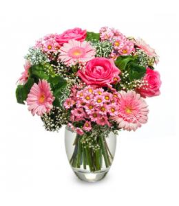 Μπουκέτο ρόζ αποχρώσεις