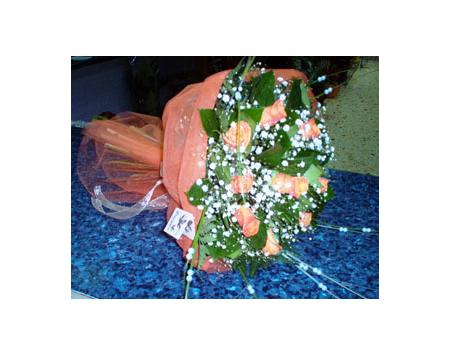 Σύνθεση - Μπουκέτο με Τριαντάφυλλα