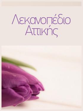Αποστολή λουλουδιών στο Λεκανοπέδιο Αττικής