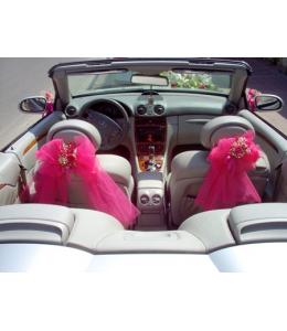 Decoration of the Wedding Car's Interior