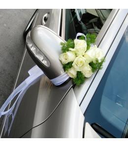 Στολισμός Καθρεπτών Αυτοκινήτου Γάμου
