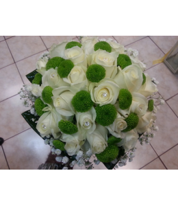 Bridal with roses