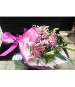 Pink shades bouquet