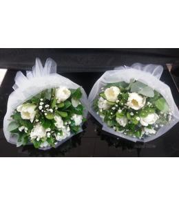 Μπουκέτο λουλούδια με τουλίπες