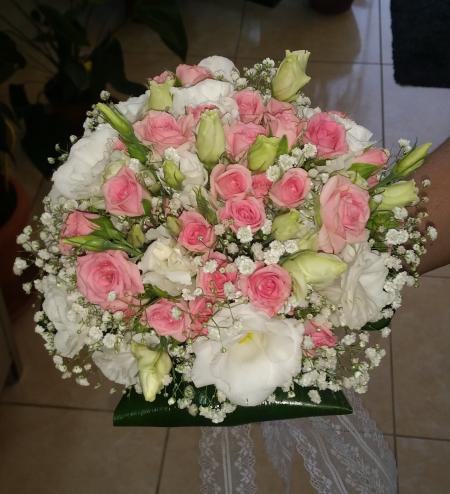 Bridal bouquet as