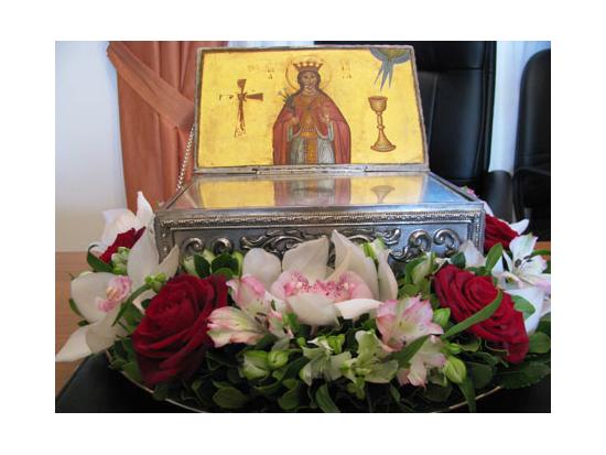 Στολισμός - Ιερού Ναού - Αγίας Βαρβάρας